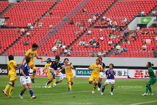 Women's Japan National Team Group (JPN), September 1, 2011 - Football : Women's Asian Football Qualifiers Final Round for London Olympic Match between Japan 3-0 Thailand at Shandong Provincial Stadium, Jinan, China. (Photo by Daiju Kitamura/AFLO SPORT) [1045]