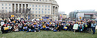 Jan. 25, 2013; The 2013 March for Life in Washington, D.C. Photo by Barbara Johnston/University of Notre Dame