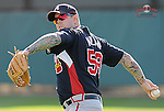 14 March 2009: Peter Moylan of the Atlanta Braves at Spring Training camp at Disney's Wide World of Sports in Lake Buena Vista, Fla. Photo by:  Tom Priddy/Four Seam Images