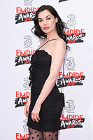 Poppy Corby-Tuech at the Empire Film Awards 2017 at The Roundhouse, Camden, London, UK. <br /> 19 March  2017<br /> Picture: Steve Vas/Featureflash/SilverHub 0208 004 5359 sales@silverhubmedia.com