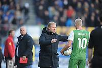 VOETBAL: CAMBUURSTADION: LEEUWARDEN: 03-11-2013, Cambuur-Feyenoord, uitslag 0- 2, Ronald Koeman, ©foto Martin de Jong
