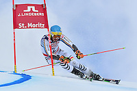 February 17, 2017: Felix NEUREUTHER (GER) competing in the men's giant slalom event at the FIS Alpine World Ski Championships at St Moritz, Switzerland. Photo Sydney Low