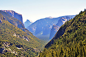 Yosemite Tunnel View Overlook