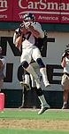 Oakland Raiders vs. Denver Broncos at Oakland Alameda County Coliseum Sunday, September 17, 2000.  Broncos beat Raiders  33-24.  Denver Broncos wide receiver Ed McCaffrey (87).