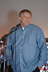 Fund raiser for firefighter Ray Pfeifer on Saturday, March 31, 2012, at East Meadow Firefighters Benevolent Hall, New York, USA. On stage, Ray Pfeifer, an ex-captain of East Meadow Fire Department Engine Co. 3 and member of FDNY Engine Co. 40 and Ladder Co. 35, said he loved being a firefighter and thanked the many firefighters, friends and family who helped make the event so successful.