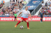Cary, North Carolina  - Sunday May 21, 2017: Julie Ertz during a regular season National Women's Soccer League (NWSL) match between the North Carolina Courage and the Chicago Red Stars at Sahlen's Stadium at WakeMed Soccer Park. Chicago won the game 3-1.