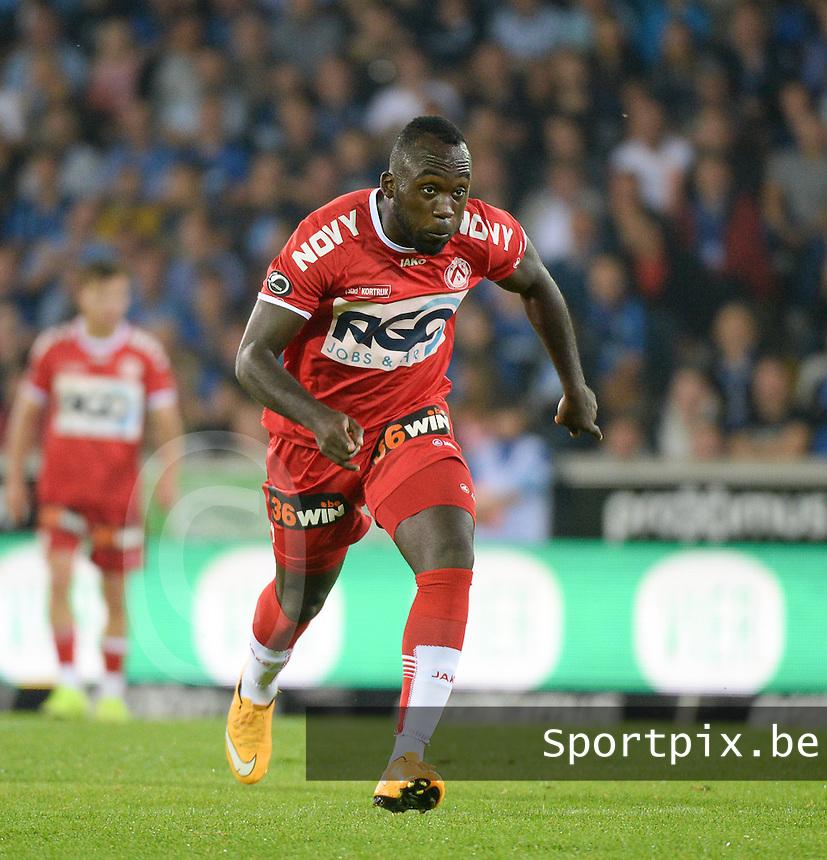 Club Brugge - KV Kortrijk : Herve Kage <br /> Foto VDB / Bart Vandenbroucke