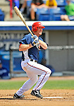 15 March 2008: Washington Nationals' infielder Pete Orr at bat during a Spring Training game against the Los Angeles Dodgers at Space Coast Stadium, in Viera, Florida...Mandatory Photo Credit: Ed Wolfstein Photo