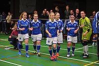 VOETBAL: FRANEKER: Sporthal De Trije Franeker - Open FK zaalvoetbal, VIOD Driezum wint bij de dames, ©foto Martin de Jong
