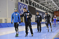 SPEED SKATING: SALT LAKE CITY: 18-11-2015, Utah Olympic Oval, ISU World Cup, training, Johan de Wit (trainer/coach Team JPN), ©foto Martin de Jong