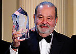 Billionaire Carlos Slim Hel&uacute;'s global leadership award