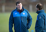 St Johnstone Training&hellip;03.02.17<br />Manager Tommy Wright talks with coach Alec Cleland during training this morning at McDiarmid Park ahead of Sunday&rsquo;s game against Celtic.<br />Picture by Graeme Hart.<br />Copyright Perthshire Picture Agency<br />Tel: 01738 623350  Mobile: 07990 594431