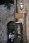 Silversmith shop in San Gimignano Italy
