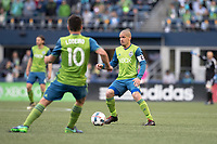 Seattle, Washington - Sunday, March 19, 2017: Seattle Sounders FC vs New York Red Bulls at CenturyLink Field. Final Score: Seattle Sounders FC 3, New York Red Bulls 1
