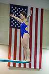 BIRMINGHAM, AL - MARCH 11: Mariah Constantakos of West Florida prepares to dive during the Women 3 meter Diving during the Division II Men's and Women's Swimming & Diving Championship held at the Birmingham CrossPlex on March 11, 2017 in Birmingham, Alabama. (Photo by Matt Marriott/NCAA Photos via Getty Images)