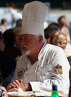 Hungarian chef Jozsef Toth (József Tóth) - Hungarian Regional Gastronomic Festival 2009 - Gyor ( Gy?r ) Hungary