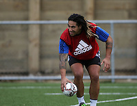 Ma'a Nonu. All Blacks Training Session at Te Whaea, Wellington, New Zealand on Tuesday, 5 July 2011. Photo: Dave Lintott / lintottphoto.co.nz
