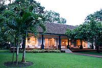 Maison Couturier, a boutique hotel belonging to the Habita Group. San Rafael, Veracruz