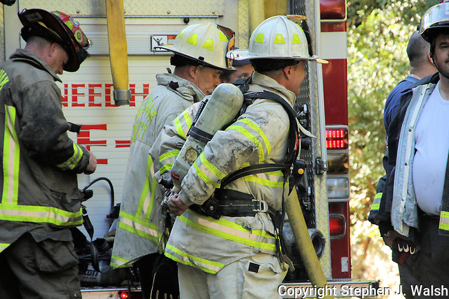 Needham 2 alarm house fire