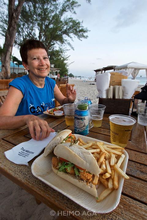 Grand Cayman. Seven Mile Beach. The Westin Grand Cayman Seven Mile Beach Resort and Spa. Nicole Schmidt.