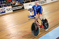 Picture by Alex Whitehead/SWpix.com - 04/03/2017 - Cycling - UCI Para-cycling Track World Championships - Velo Sports Center, Los Angeles, USA - Great Britain's Jon Gildea wins Gold in the Men's C5 4km Individual Pursuit final.