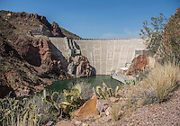 The area near the Roosevelt Dam and the Salt River, one location of the movie &quot;Transformers 5 The Last Knight&quot; , E7, being filmed near Theodore Roosevelt Dam in Arizona. The film has just started filming and further filming will take place in locations like Detroit, Ireland, Great Britan and Iceland. <br />