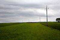 Views of the Polish countryside via train and bus.
