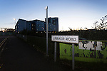 Leicester City 0 Manchester City 0, 29/12/2015. King Power Stadium, Premier League. The site of the former home of Leicester City, Filbert Street, is now waste ground a new road called Lineker Road, and student accommodation. Photo by Paul Thompson.