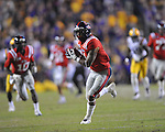 Ole Miss' Randall Mackey (1) makes a catch vs. LSU at Tiger Stadium in Baton Rouge, La. on Saturday, November 17, 2012. LSU won 41-35.....