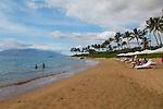 Mokapu Beach at the Andaz hotel in Wailea, Maui, Hawaii