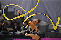 September 10, 2009; Mie, Japan;  Chiara Ianni of Italy is closeup with ribbon at 2009 World Championships Mie.  Photo by Tom Theobald