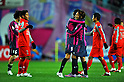 (L-R) Rodrigo Pimpao, Shu Kurata (Cerezo), MARCH 2, 2011 - Football : AFC Champions League Group G match between Cerezo Osaka 2-1 Arema Indonesia at Nagai Stadium in Osaka, Japan. (Photo by AFLO)
