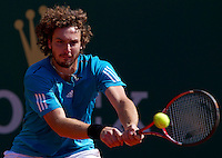 Ernest GULBIS (LAT) against Stanlinas WAWRINKA (SUI) in the second round. Stanlinas Wawrinka beat Ernest Gulbis 6-1 6-4..International Tennis - 2010 ATP World Tour - Masters 1000 - Monte-Carlo Rolex Masters - Monte-Carlo Country Club - Alpes-Maritimes - France..© AMN Images, Barry House, 20-22 Worple Road, London, SW19 4DH.Tel -  + 44 20 8947 0100.Fax - + 44 20 8947 0117