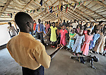 Sunday morning worship at the United Methodist Church in Yei, a town in Central Equatoria State in Southern Sudan.