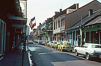 New Orleans:  Bourbon St. from Iberville.