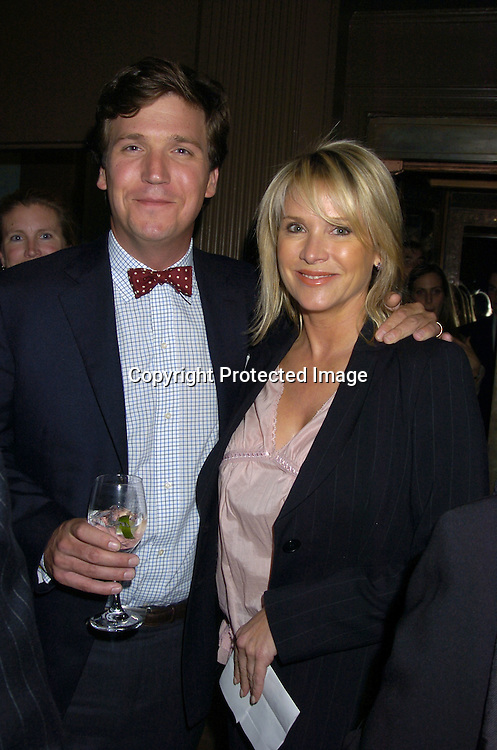 Tucker Carlson and Patricia Duff ..at The 2005 Do Something Brick Awards on April 19, 2005 at Capitale in New York City. ..Photo by Robin Platzer, Twin Images