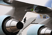 United States President Barack Obama walks up the steps of Air Force One at Joint Base Andrews near Camp Springs, Maryland on March 21, 2012. Obama is traveling to Boulder City, Nevada..Credit: Olivier Douliery / Pool via CNP
