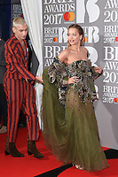 Rita Ora at the 2017 Brit Awards at the O2 Arena in London, UK. <br /> 22 February  2017<br /> Picture: Steve Vas/Featureflash/SilverHub 0208 004 5359 sales@silverhubmedia.com