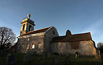 Distinctive for it's golden ball and it's proximity to the Hellfire  Club Caves and the Dashwood Mausoleum, this church was build by Hellfire Club founder Sir Francis Dashwood in 1760.
