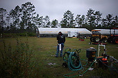 Jacksonville, Florida<br /> November 6, 2013<br /> <br /> Veteran's sustainable farm founded by Purple Heart veteran Adam Burke and managed by Afghan and Iraqi veteran Steve Ellseberry.<br /> <br /> <br /> Army veteran Steve Ellseberry on the farm.