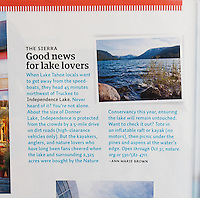 Stock Photography usage in Sunset Magazine