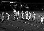 Bethel Park PA:  Offensive line was one of the biggest in the conference averaging 225lbs.  Joe Barrett 75 (RT), Dennis Franks 66 (RG), Don Troup 51 (C), Glenn Eisaman 71 (LG), Jim Dingeldine 73 (LT), Gary Biro 81 (TE), Bruce Evanovich 80 (SE), Mike Stewart 11(QB), Clark Miller 30 (FB), Mike 83(HB) - 1970. After Scott Streiner was injuried on the first play, the team rallied but came up just short of winning the game when they missed a two-point conversion late in the 4th quarter (7-6).