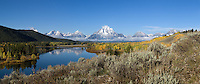 Mount Moran from Oxbow Bend, Grand Teton National Park