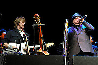 LONDON, ENGLAND - OCTOBER 30: Jeff Beck and Van Morrison performing at Bluesfest 2016 at the O2 Arena on October 30, 2016 in London, England.<br /> CAP/MAR<br /> &copy;MAR/Capital Pictures /MediaPunch ***NORTH AND SOUTH AMERICAS ONLY***
