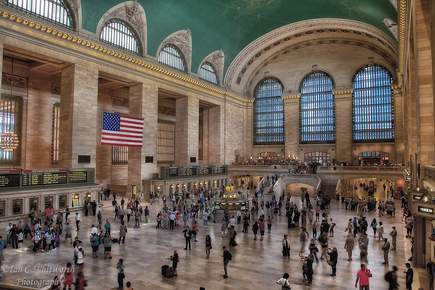 A view inside NYC's Grand Central Terminal