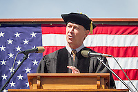 Colorado Gov. John Hickenlooper speaks at Western Commencement 2014.