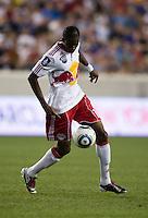 Macoumba Kandji. Tottenham defeated the New York Red Bulls, 2-1.