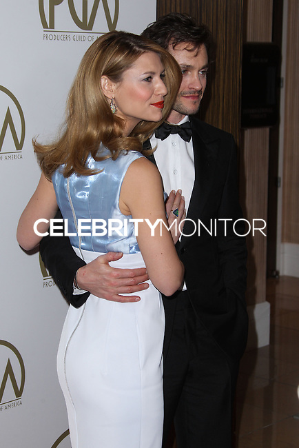 BEVERLY HILLS, CA - JANUARY 19: Claire Danes, Hugh Dancy at the 25th Annual Producers Guild Awards held at The Beverly Hilton Hotel on January 19, 2014 in Beverly Hills, California. (Photo by Xavier Collin/Celebrity Monitor)