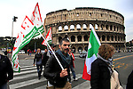 ITALY - ROME - Protest Against Italy Government