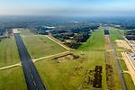 Nederland, Utrecht, Soest, 28-10-2014; Nationaal Militair Museum op de voormalige vliegbasis Soesterberg. Het NMM is ontworpen door Claus en Kaan Architecten in samenwerking met Kossmann.dejong en H+N+S en wordt beheerd door Heijmans PPP (public&ndash;private partnership).<br /> National Military Museum at the former Soesterberg airbase.<br /> luchtfoto (toeslag op standard tarieven);<br /> aerial photo (additional fee required);<br /> copyright foto/photo Siebe Swart